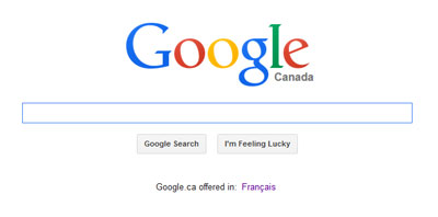 google 1st page