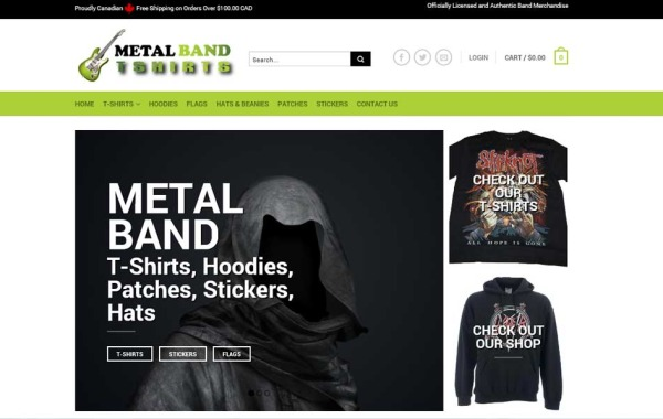 Metal Band T-Shirts
