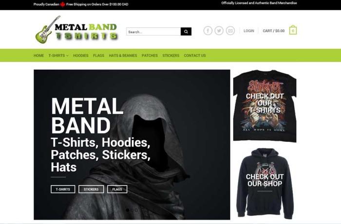 Metal Band T-Shirts