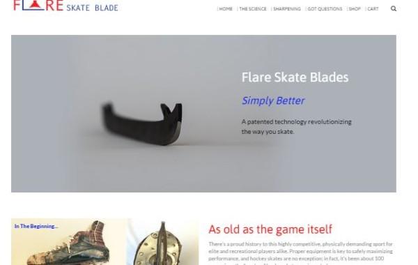 Flare Skate Blade